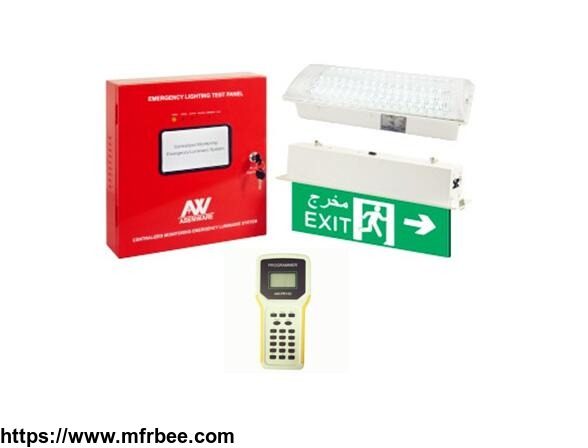 asenware centralized monitoring emergency luminaire system