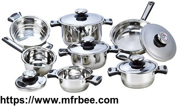 home_use_12pcs_stainless_steel_cookware_set