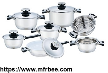 hot_sell_induction_bottom_non_stick_stainless_steel_frypan_supplier