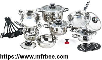22pcs_straight_shape_wide_edge_stainless_steel_cookware_set_manufacturer