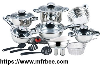 hot_sale_23pcs_non_stick_7_step_induction_bottom_cookware_set