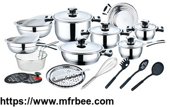 27pcs_inside_and_outside_mirror_polished_stainless_steel_cookware_set