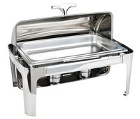 multifunctional economic stainless steel chafing dish/oblong shape buffet stove