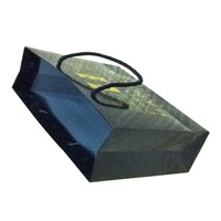 Brown kraft paper shopping and gift hand bag with different sizes