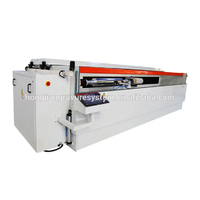 Spray Coating Machine for Gravure Cylinder Making Embossing Roller Laser Etching Process