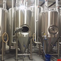 10hl/2000L industrial beer brewery equipment for beer factory