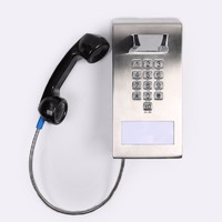Hotline jail telephone wall mounted robust construction rugged telephone-JWAT133