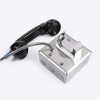 Hotline stainless steel non-button jail phone-JWAT123