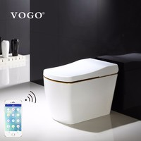 Bathroom intelligent smart electric one piece bidet toilet