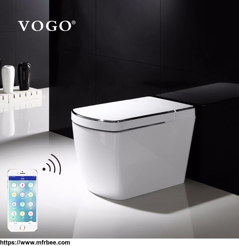 Hot sale luxury big fully automatic toilet bowl from china