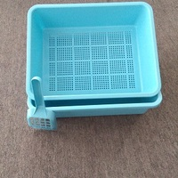 plastic cat litter tray
