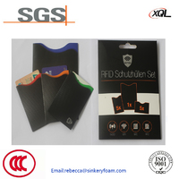 Durable RFID shielding ABS plastic card holder as Christmas gift