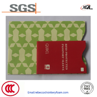 Professional security protection aluminum foil RFID card holder