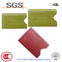 Customized 0.1mm thickness tear-resistant card holder RFID protection