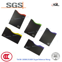 China manufacturer customized printing water proof card holder RFID shielding