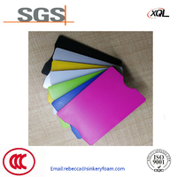 China manufacturer of ABS water proof RFID blocking plastic card holder