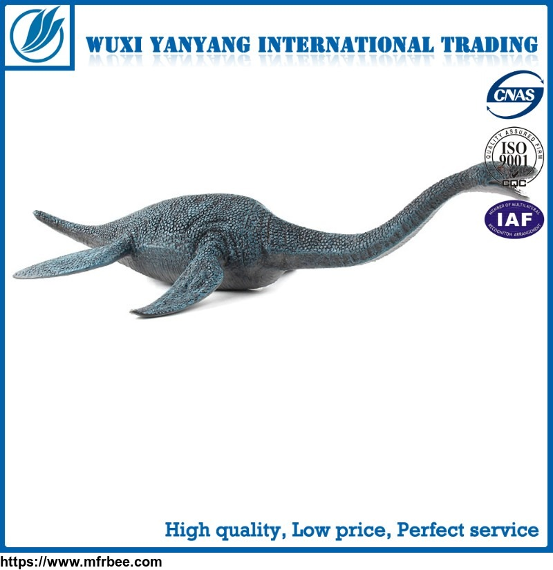 Plastic dinosaur plesiosaurs animal model holiday decoration toys
