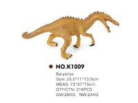 The latest pvc toy dinosaur baryonyx for children