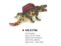 The latest pvc toy dinosaur dimetrodon for children