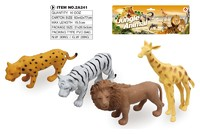 Plastic Forest Animal Toy Set Wild Animal Sets,Animal Natural Toy