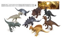 OEM Plastic Dinosaurs Figure Wild Animal Toy Sets/Custom Simulation Animals Toy Plastic