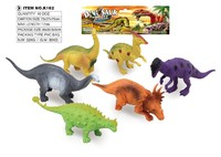 new kids hot plastic toy dinosaur set