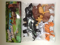 Plastic pvc wild animal toy model