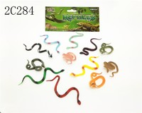4*4.5cm PVC mini insect animal toys for kids