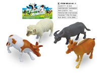 Plastic educational animal toys model