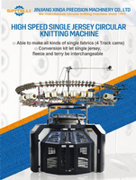 High Speed High Quality Single Jersey Circular Knitting Machine