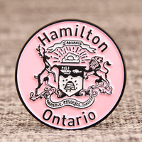City Of Hamilton Lapel Pins
