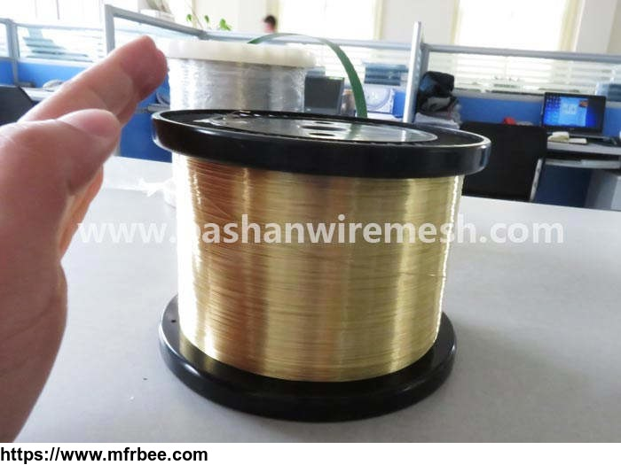 0.25mm edm brass wire stright brass wire for CNC machine China Bashan factory