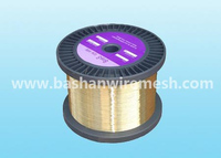 0.25mm edm brass wire stright brass wire for CNC machine