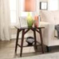 Urban Style Living Cape May/Casual Side Table 23.75IN Wide
