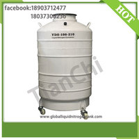 more images of Cryogenic transport container 100 Liter dewar semen tank 100L with Cover factory outlet