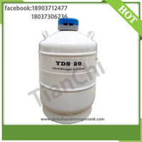 TIANCHI Cryogenic Liquid Tank 20 Liter 50mm Caliber Nitrogen Container Price