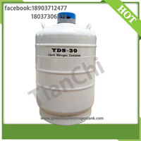 TIANCHI Cryogenic Liquid Tank 30 Liter 50mm Caliber Nitrogen Container Price