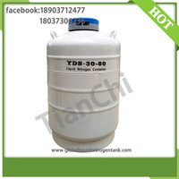 TIANCHI Cryogenic Liquid Tank 30 Liter 80mm Caliber Nitrogen Container Price