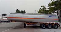 39cbm good quality Large capacity Fuel Tanker with tri-axle