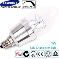 4w Dimmable Candelabra (E12) Chandelier