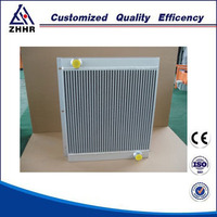 heat exchanger with plate fin consture