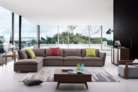 Furniture Living Room 3+2+1 Seater Soft Fabric Sofa Set Designs