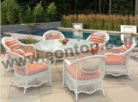 rattan table chair ETP-XDL221