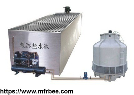 Commercial use of ice block machine in China
