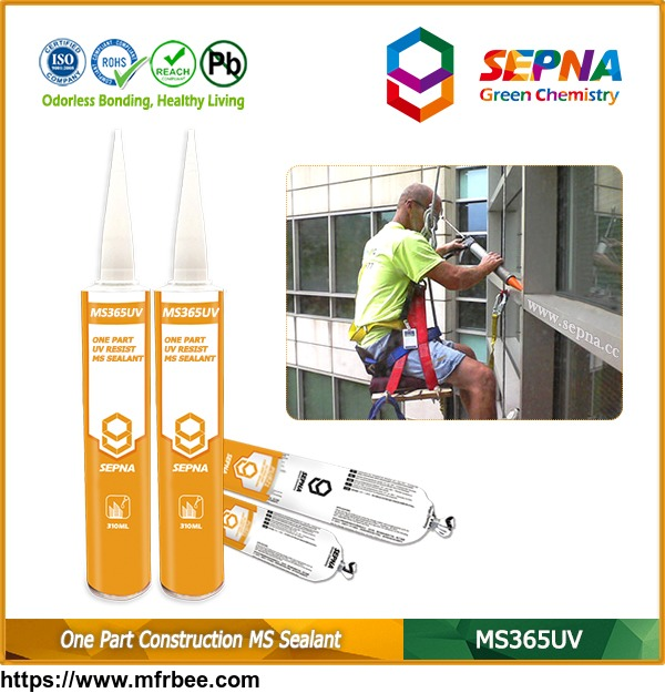 Sepna® Brand Single Component MS Sealant for Construction MS365UV