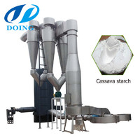 PRofessional large air dryer cassava starch drying machine