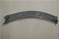 "1/8"" stainless steel wire braided reinforced brake hose"