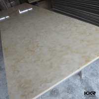 synthetic solid surface marble look sheets
