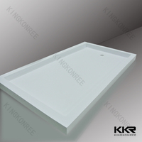 Acrylic solid surface stone resin shower tray