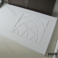 Bathroom sanitary ware Solid Surface Shower tray